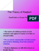 Realism and Neo-Realism (1)