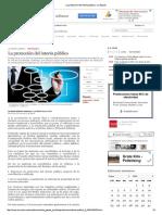 La Protección Del Interés Público - La Conciliación y Arbitraje en Bolivia - La Razón