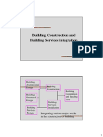 Building Construction and Building Services integration