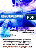Lawrence Kolhberg's Moral Development