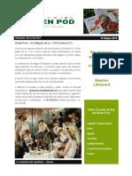 GreenPod Notiziario 15 Giugno 2015