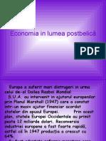 Economia in Lumea Postbelică