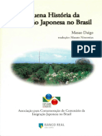Pequena Historia Da Imigracao Japonesa No Brasil