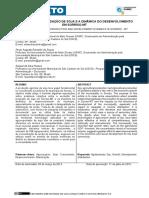 OS IMPACTOS DA PRODUÇÃO DE SOJA E A DINÂMICA DO DESENVOLVIMENTO EM SORRISO-MT