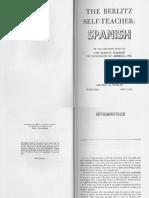 Berlitz Self Teacher Spanish(1)