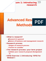 PART I 1ST Introducing Research 2
