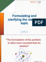 PART I 2NDB Formulating Research Topic_2