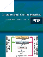 Gyne - Dysfunctional Uterine Bleeding