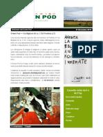 GreenPod Notiziario 21 Novembre 2015