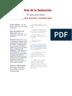 El Arte de la Seducciòn 30 reglas Para seducir.pdf