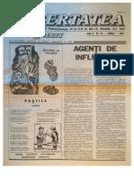 Libertatea Anul VI, Nr. 56, Aprilie 1987