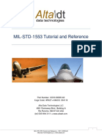 Alta MIL STD 1553 Tutorial and Reference
