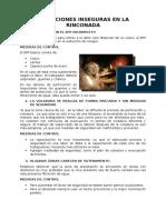 Condiciones Inseguras en La Rinconada