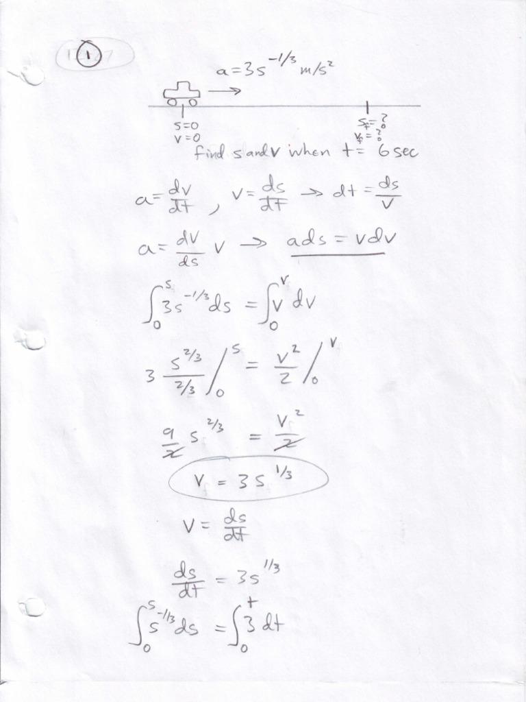 ENES221 HW1 Sp10 Solution