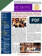 RC Holy Spirit the DOVE Vol. VIII No. 25 December 29, 2015