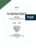 Supplément au Catalogue des monnaies de la principauté et évêché de Liège / [A. Perreau]