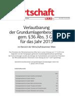 Grundumlagen 2015 Wien