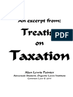 An Excerpt From Treatise on Taxation