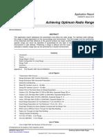 TI - swra479 - Achieving Optimum Radio Range