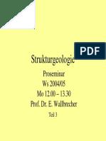 StrukturgeologieI III