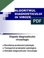 LP 1 - Algoritmul de Diagnostic Virusologic