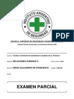 09. Relaciones Humanas II - Parcial - 2013