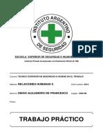 09. Relaciones Humanas II - TP - 2013