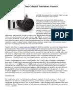 Canon EOS 1200D Test Colori & Precisione Nuance