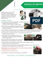 Manual de Instruções Kombi Bomba de Direção Hidráulica Novo