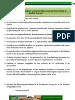 Sample Iso 22000 Manual