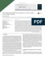Comparison study on AIS data of ship traffic behavior