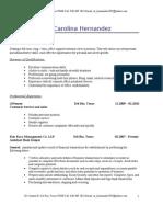 Jobswire.com Resume of nr_hernandez1987