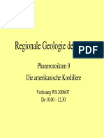 Regionale Geologie Phanerozoikum 9 Amerika