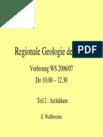 Regionale Geologie Archaeikum
