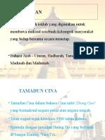 Titas Presentation (Tamadun China)