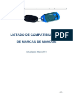 Lista Compatibilidades Mandos a Distancia
