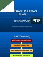 Klasifikasi Jaringan Jalan Palembang