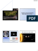 Networking Ground-based Optical Telescopes for Space Guard Missions