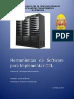 Herramientas Para Implementar ITIL