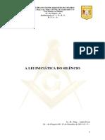 14 A LEI INICIÁTICA DO SILÊNCIO - 19-09-2013.pdf