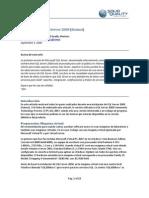 La instalación de SQL Server 2008