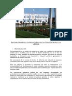 Peatonalización Del Centro Histórico Del La Ciudad de Trujillo