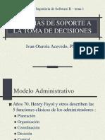 2013- Tema 1 - Sistemas de Soporte a La Toma de Decisiones