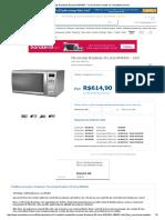 Microondas Brastemp 30 Litros BMA30A - Forno de Micro-Ondas No CasasBahia.com
