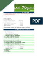 Contabilidad de Costos en Excel