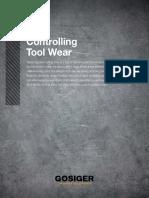 Controlling Tool Wear