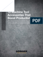 Machine Tool Accessories Boost Productivity