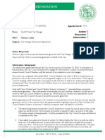 City Manager Employment Agreement (2015)