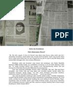 Krisis dan Kemiskinan (Perspektif, Jawa Pos Radar Jember, 25 Desember 2015, Hlm. 1)