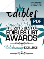 Edibles Magazine January 2016 Awards Issue